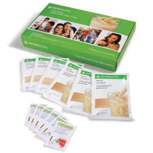 A melhor forma de iniciar a sua viagem pelo mundo da boa nutrição da Herbalife!