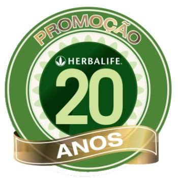 logomarca herbalife 20 anos