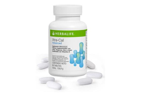 Xtra-Cal Herbalife suplemento calcio magnesio vitamina D vidaativaesaudavel