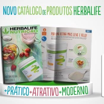 novo catalogo produtos herbalife
