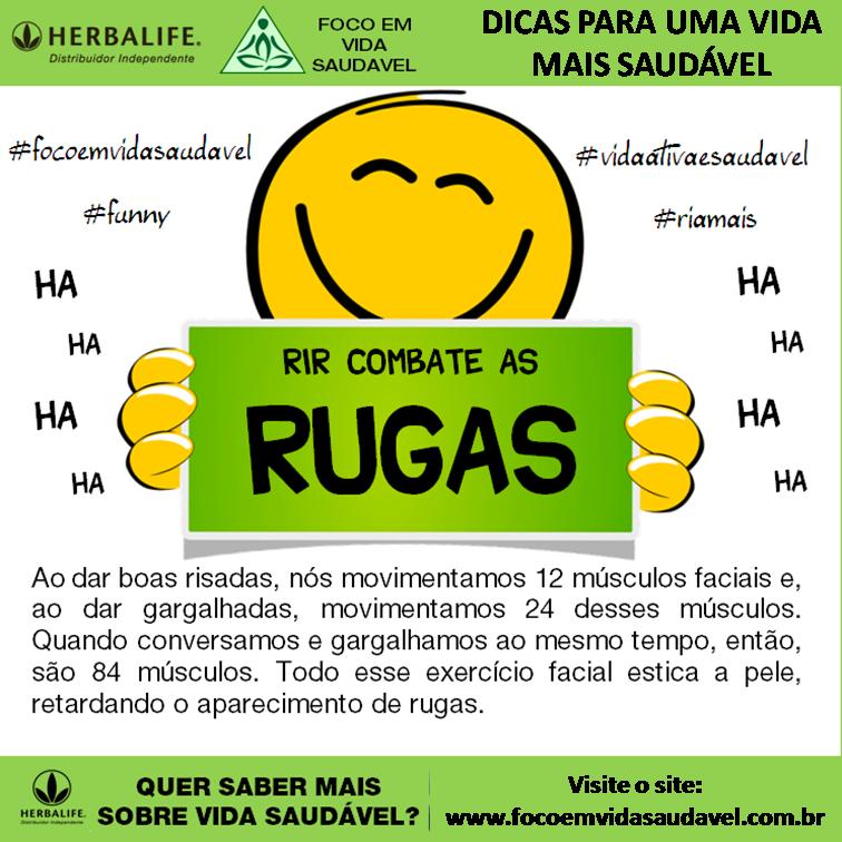 Rir combate as rugas - focoemvidasaudavel.com.br