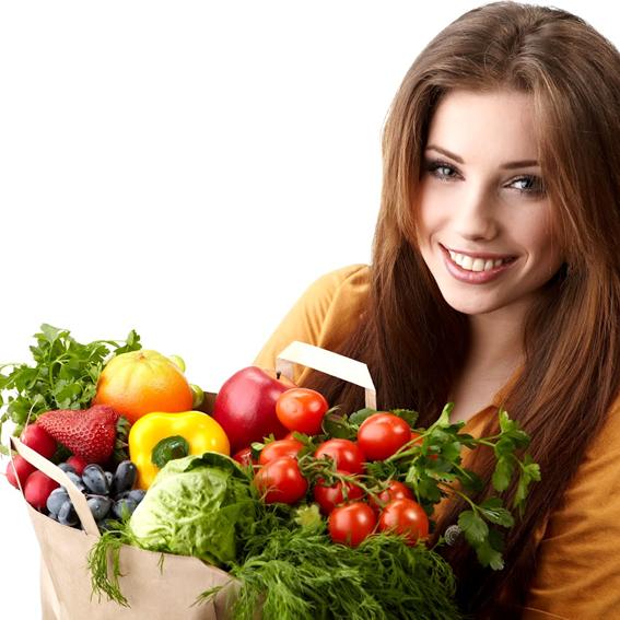 04 Pessoas conscientes comem mais frutas e vegetais
