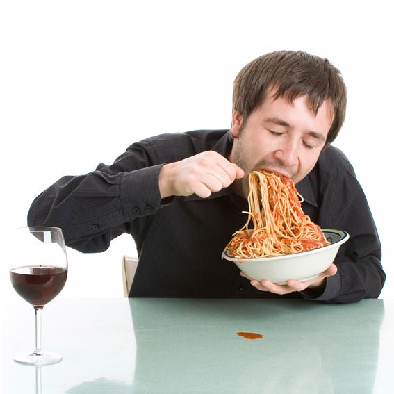 06 Pessoas que comem rapido