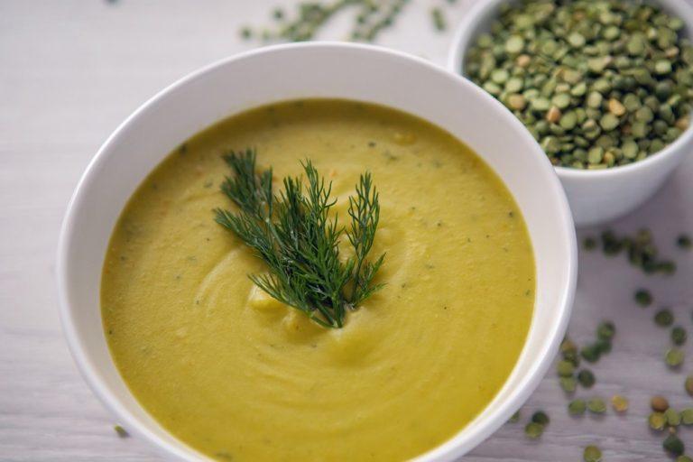 5- Sopa de Ervilha Para Eliminar 4Kg em 10 Dias